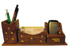 JbJ Trading Inc. Wooden Cell Phone/Card/Pen Holders with Elephant Brass Work (S37292) JBJ Trading inc.,http://www.amazon.com/dp/B00BJ029R2/ref=cm_sw_r_pi_dp_Or1Ftb0BSNHGZ48G