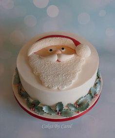 Father Christmas - Cake by Carol