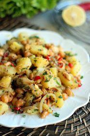 Surfing the world cuisine: Indian potato salad with peanuts / Indiškos bulvių salotos su žemės riešutais