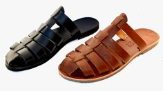 Greek handmade Roman leather sandals for men by AnaniasSandals Greek Sandals, Men's Sandals, Leather Men, Leather Bags, Huaraches, Laptop Bag, Leather Sandals, Men's Shoes, Shoes