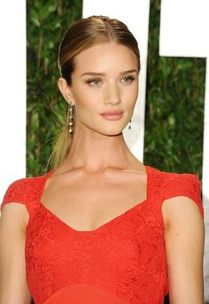 Rosie Huntington-Whiteley In Antonio Berardi – 2012 Vanity Fair Oscar Party