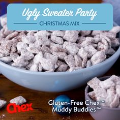 Chex Muddy Buddies Recipe Chex Recipes Chex com is part of Muddy buddies recipe Another popular name for this favorite mix is puppy chow Chow down; it& doggone good! Discover more recipes at - Puppy Chow Recipes, Chex Mix Recipes, Snack Recipes, Dessert Recipes, Cookie Recipes, Recipe For Puppy Chow, Dessert Ideas, Popcorn Recipes, Chex Muddy Buddies