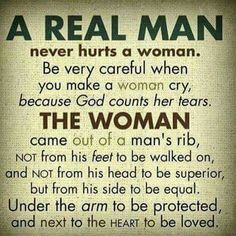 A real man Biblical
