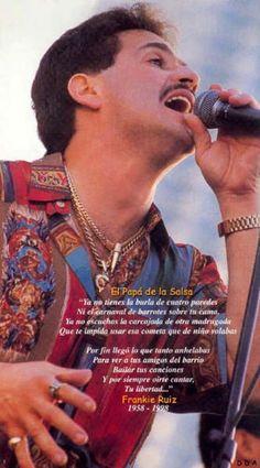 Frankie Ruiz Frankie Ruiz, Puerto Rican Music, Puerto Rican People, Famous Latinos, Musica Salsa, Salsa Music, Puerto Rican Culture, San Juan Puerto Rico, Latin Music