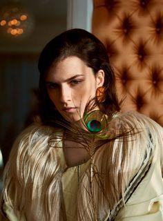 Irina Djuranovic by Serge Leblon for Vogue Turkey March 2016 | cloverdesain