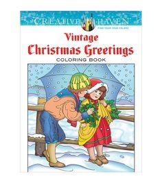 Dover Creative Haven Vintage Christmas Coloring Book