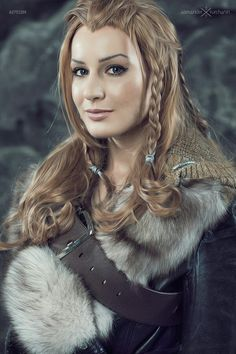 Fili female dwarf cosplay