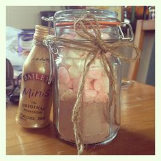 Make Your Own Spiked Hot Chocolate gift idea
