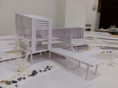 Outdoor Furniture, Outdoor Decor, Toddler Bed, Bench, Architecture, Home Decor, Child Bed, Arquitetura, Decoration Home