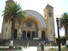 Cathedral, Oran, Algeria  The town I was born