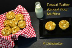 Made: 12 Nov. 2013. Peanut Butter Almond Flour Muffins... Needs more substance in batter. Better with melted peanut butter as frosting!