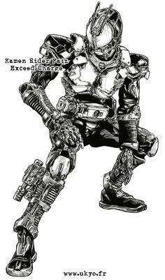 Another custom inking from SIC version of Kamen Rider Den O Liner Form. As always, Kamen Rider is (c) Ishinomori Prod / Bandai