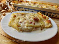 La lasagna cacio e pepe è un'ottima e gustosa alternativa al famoso piatto di pasta Romano cacio e pepe tanto apprezzato da tutti