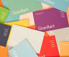 Gravitart 'Color Guide' Business Cards - Business Cards - Creattica