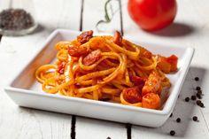 Linguine all'amatriciana #Star #ricette #food #linguine #amatriciana #pasta #recipes