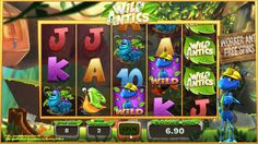 The worker ant, the soldier ant and the colonel ant bring huge wins for you. Join Vegas Paradise, avail £5 bonus and #play Wild Antics #slots now