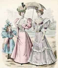 Victorian Fashion - 1896