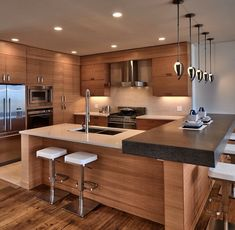 16 Open Concept Kitchen Designs In Modern Style That Will Beautify Simple Modern Kitchen Design Photos 2018