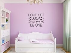 Star Decorations, Look At The Stars, Star Wall, Wall Decor, Wall Art, Light Art, Vinyl Wall Decals, Wall Signs, All The Colors