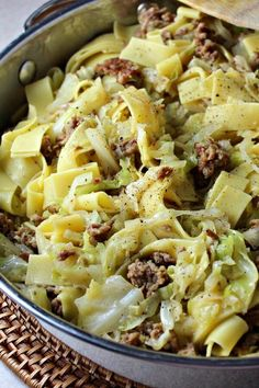 "Easy and Quick Halushki | ""I have been making halushki for years. Perfect comfort food, reminds me of dinners at my Hungarian grandma's house."" #easy #easyrecipes #quickandeasy #easyrecipesideas Side Dish Recipes, Pasta Recipes, Beef Recipes, Dinner Recipes, Cooking Recipes, Cooking Ideas, Good Healthy Recipes, Healthy Cooking, Healthy Eating"