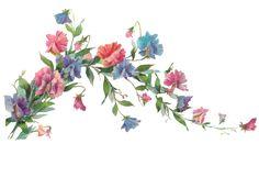 SONHO DOCE ART: Elementos florais -png