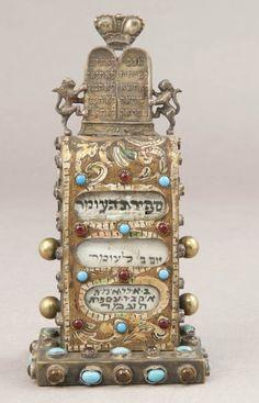 Omer Calendar, 19th Century. Collection of Yeshiva University Museum