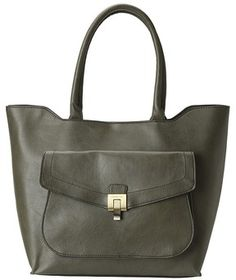 London Fog Wesley Tote (Moss) - Bags and Luggage on shopstyle.com