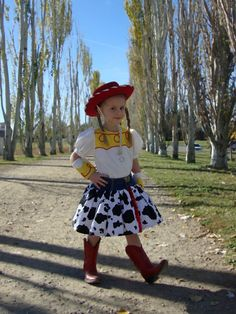 Jesse Cowgirl Costume, Toy Story, Dress. $95.00, via Etsy.