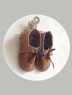 Upcycled KinderMoccasins/ Kinderschuhe Gr23/24 von JIMMIWOW auf Etsy, #moccassin #moccasin #babyslippers #kidsclothes