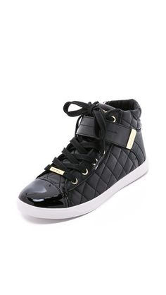 DKNY Betty Quilted Sneakers