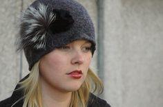 Julie Sinden Handmade   Fur Hat  www.juliesinden.com