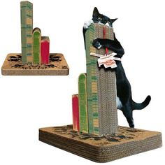 Scratching post with a sense of humor!