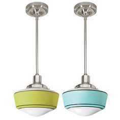 Decorative Items   Schoolhouse Electric Retro Pendant Light Fixtures   CookingLight.com