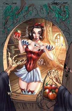 Sexy Comic Book Snow White