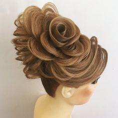 Creative Hairstyles, Cool Hairstyles, Popular Hairstyles, Vegetal Concept, Long Hair Designs, High Fashion Hair, Competition Hair, Natural Hair Styles, Long Hair Styles