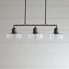 $400 - love the style, but 25 watt bulb maximum?  Nah.  could it be rewired?   Atwell Pendant Light
