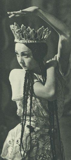Irina Baronova   1919 - 2008   Ballets Russes de Monte Carlo