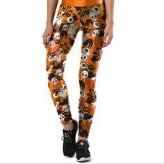 12f3dbca9995d Take a look at my listing, folks👇 Autumn Winter Leggings Printed Women  Legging Halloween