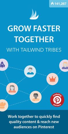 Grow Faster Together with Tailwind Tribes Content Marketing, Business Marketing, Business Tips, Social Media Marketing, Online Business, Marketing Strategies, Marketing Ideas, Affiliate Marketing, Digital Marketing
