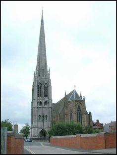 St. Walburge's church.Preston Lancashire