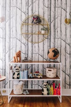 Our Favorite Wallpaper for Nurseries and Kids' Rooms - Room for Tuesday