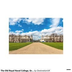 The Old Royal Naval College, Greenwich, England Canvas Prints