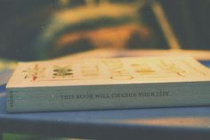 This book will change your life.