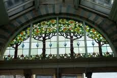 Image result for art nouveau stained glass panels