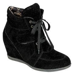 d6fecc5fa5c Reneeze BEATA-02 Womens Wedge Sneaker Booties