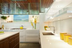Gorgeous Mid-Century Modern kitchen remodel on Gibson Island in CODE ...