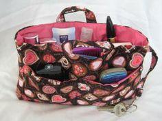 'Chocolates' from Sandibags Large Handbag Organiser -'Chocolates' -