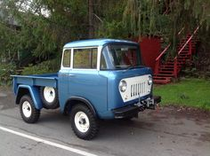 1963 JEEP FC-150. 4-speed w/PTO Restored 2013 Willys America (For Sale)