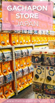 This gachapon store is located in Akihabara, Japan and has tons of vending machines full of anime collector's items.