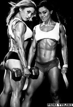 Pauline Nordin, Sherlyn Roy   Fitness Beauties